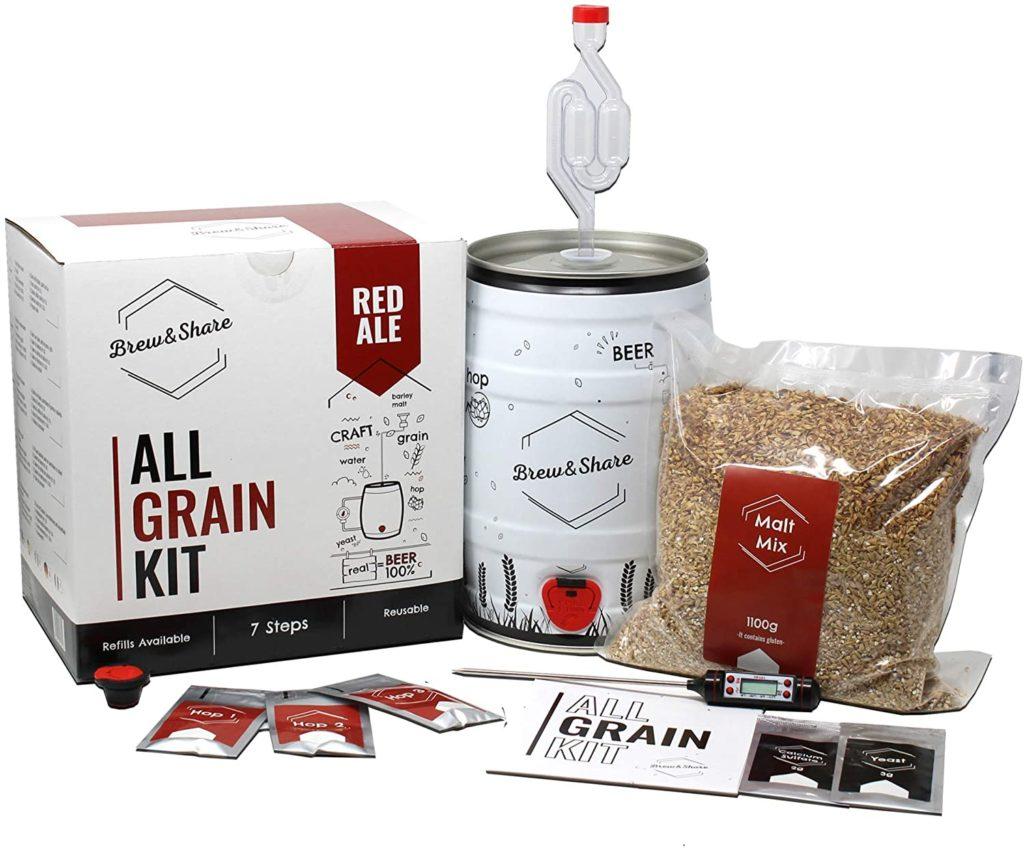Brew & Share - Kit de bière Red Ale