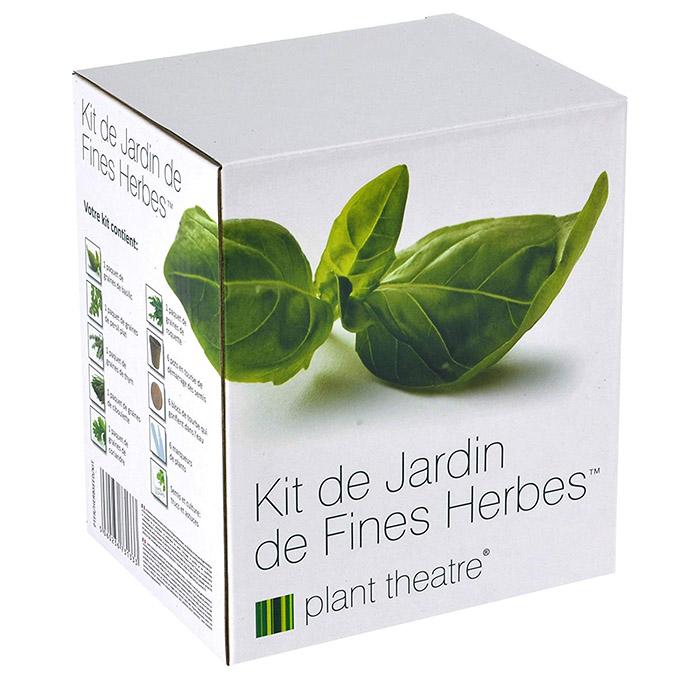 Kit de Jardin de Fines Herbes par Plant Theatre - 6 herbes aromatiques différentes à cultiver soi-même