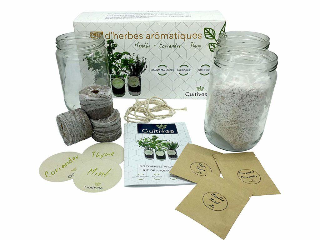 Herbes Aromatiques D Intérieur mon test du kit prêt à pousser complet d'herbes aromatiques