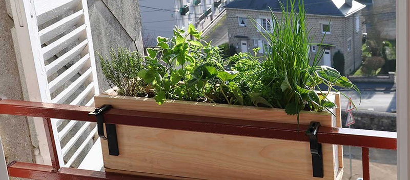 Jardinière de balcon