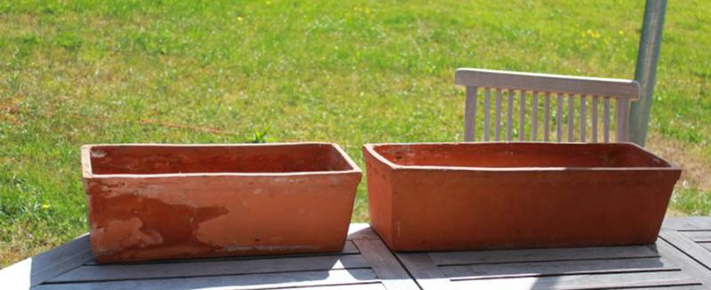Jardinière en terre cuite