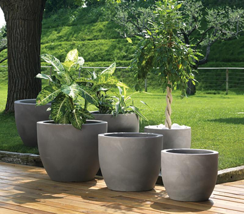 Le pot de fleur l'indémodable de l'aménagement d'un jardin