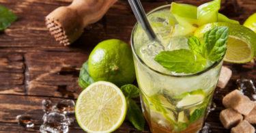 Le Mojito un cocktail à la menthe, délicieux et rafraichissant