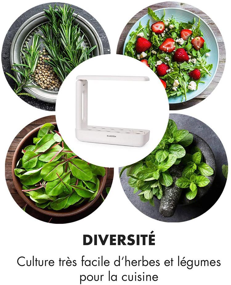 Klarstein GrowIt Cuisine - Potager hydroponique