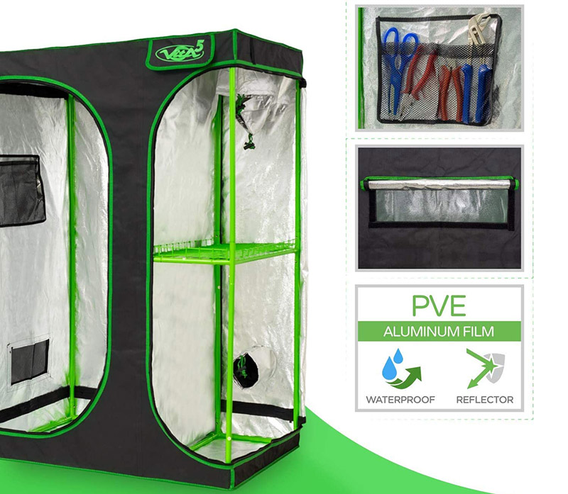 Test VITA5 Chambre de Culture 2 en 1 - Box Culture Indoor pour Homegrowing