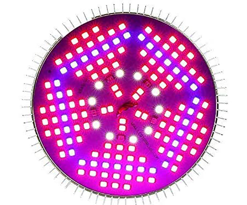 Avis - Lampe de Plante Lampe de Croissance Lampe E27 100W 150 LEDs LED Grow Light de Croissance Plein Spectrum,des Fleurs et des Légumes Intérie