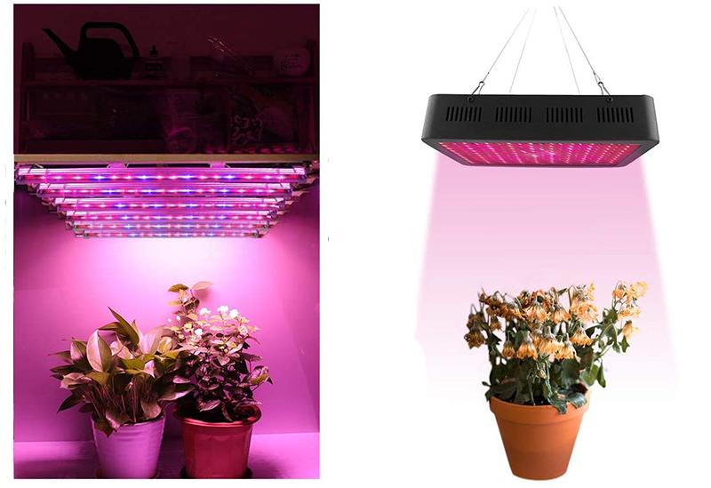 Avis - Roleadro Lampe Horticole 60W Culture Indoor IP65 LED Horticole T5 Grow LED avec Minuterie 3H6H12H et Luminosité Dimmable 250% pour Intérieu