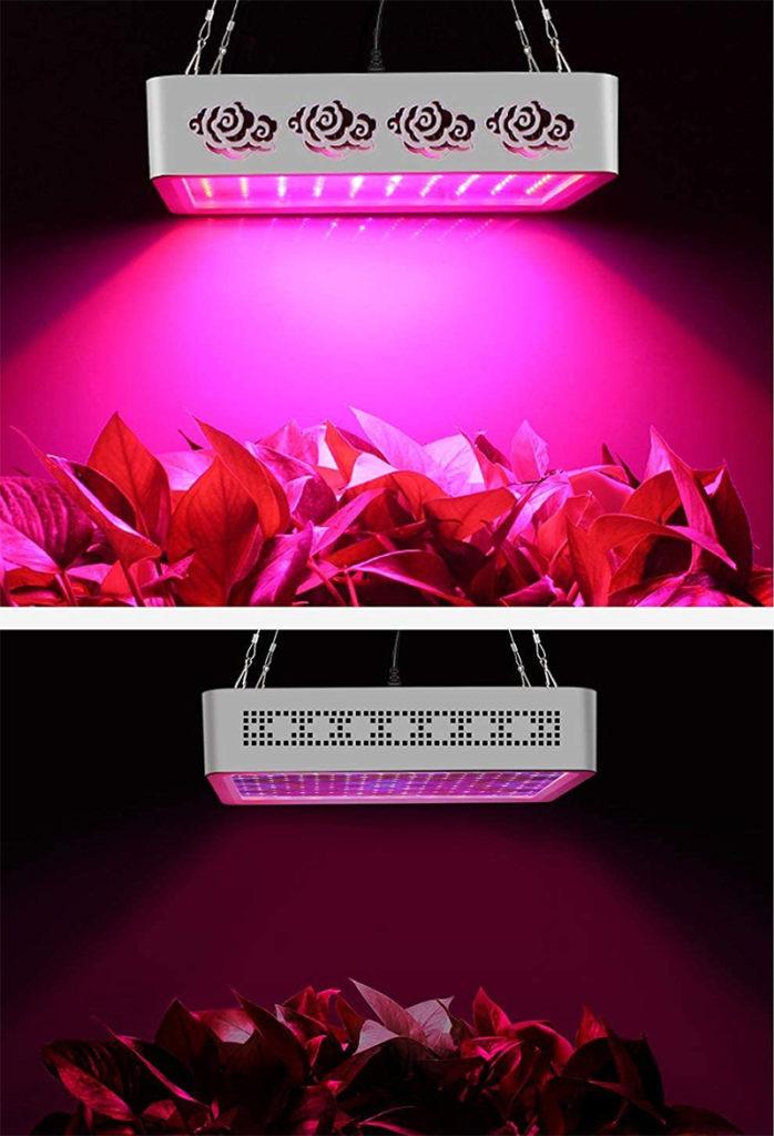 Avis - Roleadro Led Horticole Floraison 1000w Led Culture,Lampe Croissance avec UV IR Lumière pour les Plantes d'intérieur Veg et Fleur Jardi