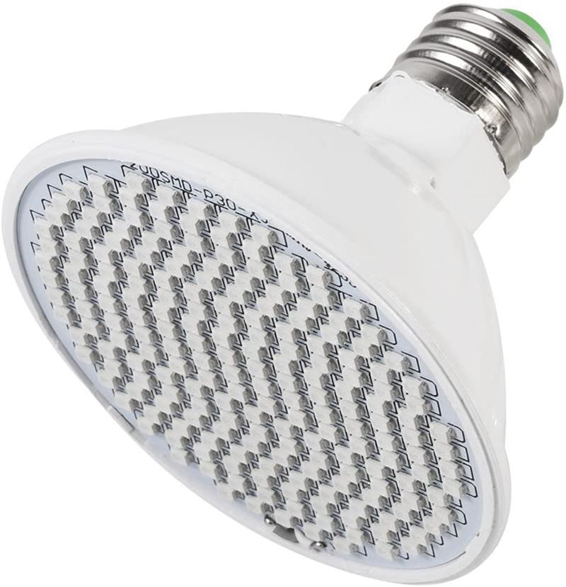 Test - Ampoule Lampe de Croissance Eclairage Lumière De Plante 24W E27 LED Spectrum Lampe De Croissance De Plantes Lampe Ampoule de Culture pour
