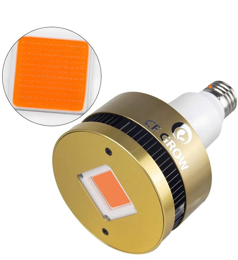 Test CFGROW 150W Lampe pour Plante E27 LED Lampe de Croissance Ampoule horticole LED