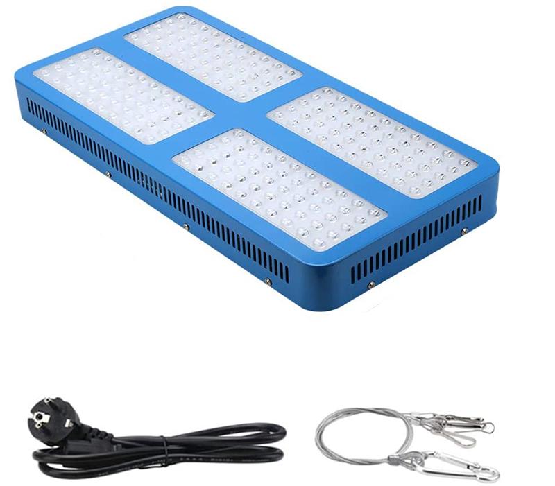 Test - LED Horticole Lampe 2000W Lampe de Croissance des Plantes à Spectre Complet vec Un UV et IR LED plantes élèvent la lumière pour la ser