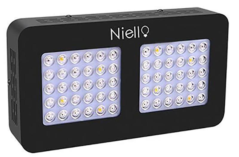 Test Niello 300W LED Grow light à-Double lentille Optique