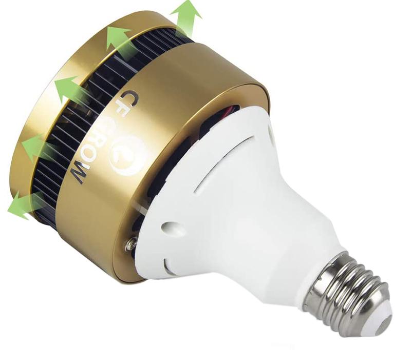Test et Avis CFGROW 150W Lampe pour Plante E27 LED Lampe de Croissance Ampoule horticole LED