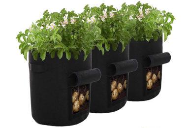 monroebaby Lot de 3 Sacs de Culture de Pommes de Terre