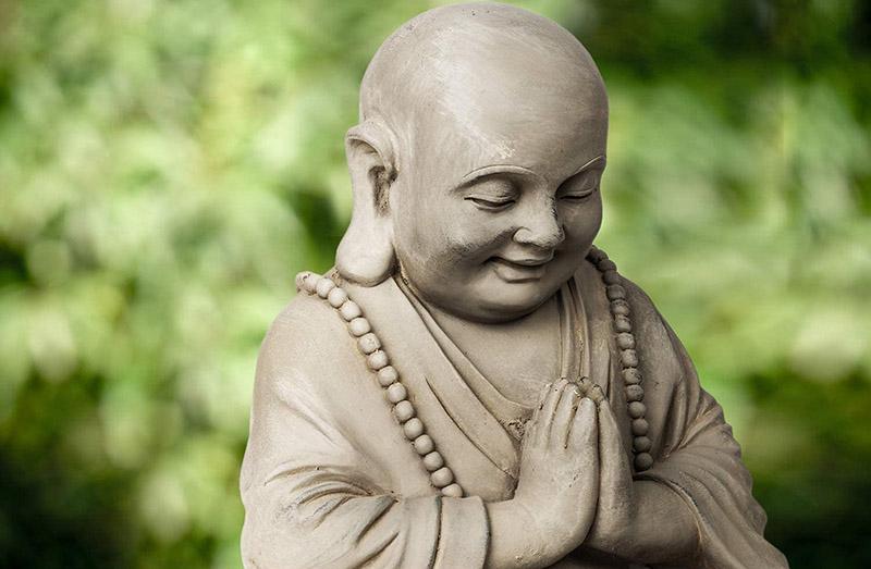 Qu'est-ce qu'une statue de Bouddha pour jardin
