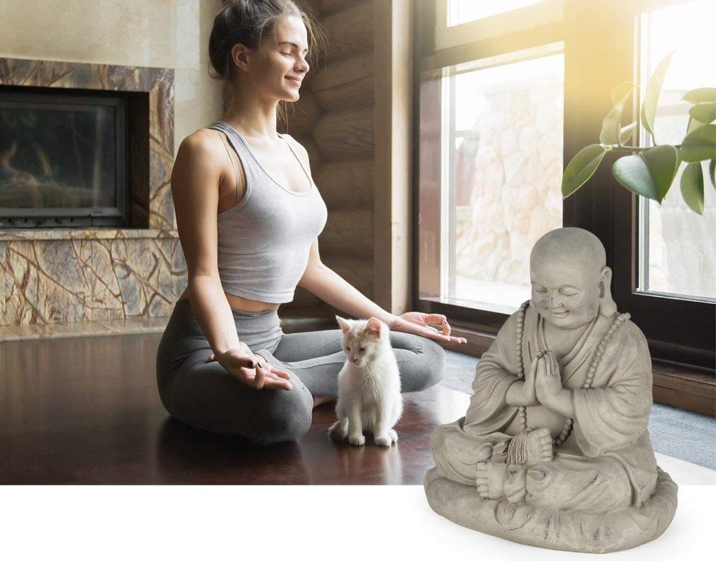 Test - blumfeldt anjali - statue jardin bouddha