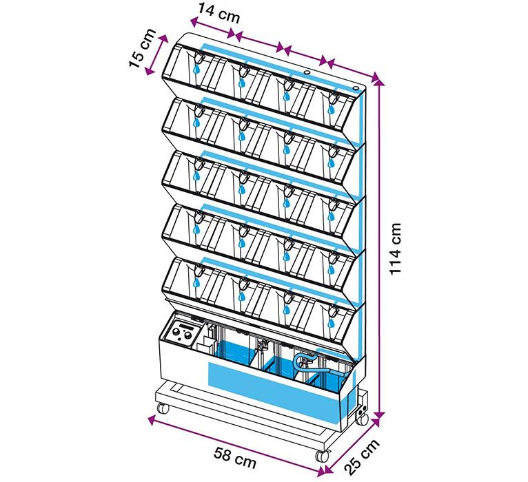 Avis sur le Jardin Potager d'intérieur Vertical Home Jardibric