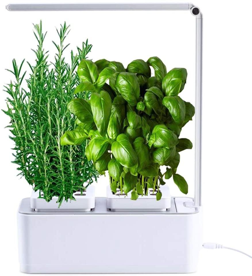 amzWOW Clizia Smart Garden- Potager Hydroponique D'Intérieur, Jardiniere Interieur pour Herbes aromatiques