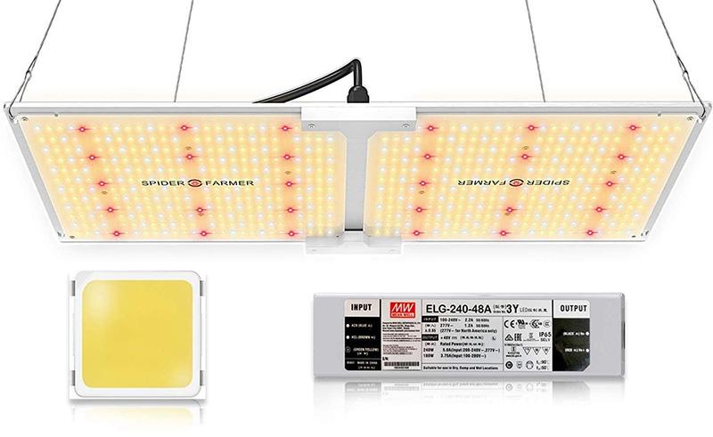 avis SPIDER FARMER SF2000 Lampe Horticole à Spectre Complet à variateur d'intensité